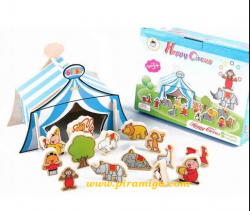 - MUTLU SİRK HAPPY CİRCUS WOODEN TOYS